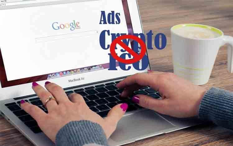 google melarang iklan cryptocurrency