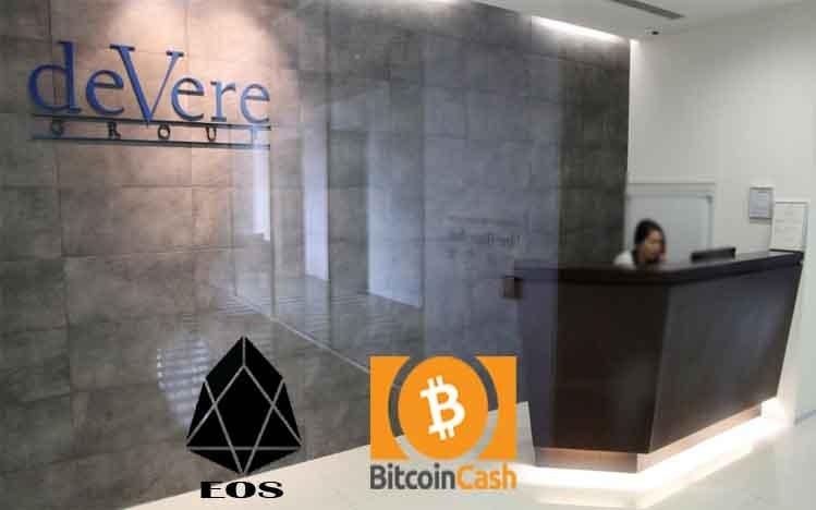 menambahkan Bitcoin Cash dan EOS