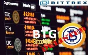 Bittrex Akan Menghapus Bitcoin Gold