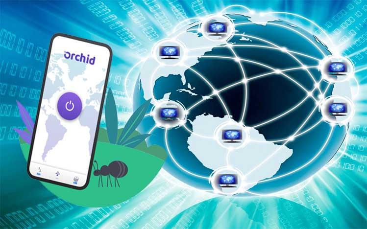 Desentralisasi Blockchain Orchid