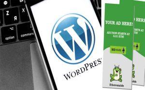 wordpress resmi tambahkan plugin iklan EthereumAds berbasis ethereum