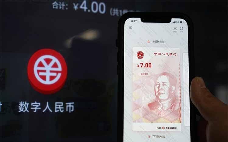 Pembayaran dengan Yuan Digital