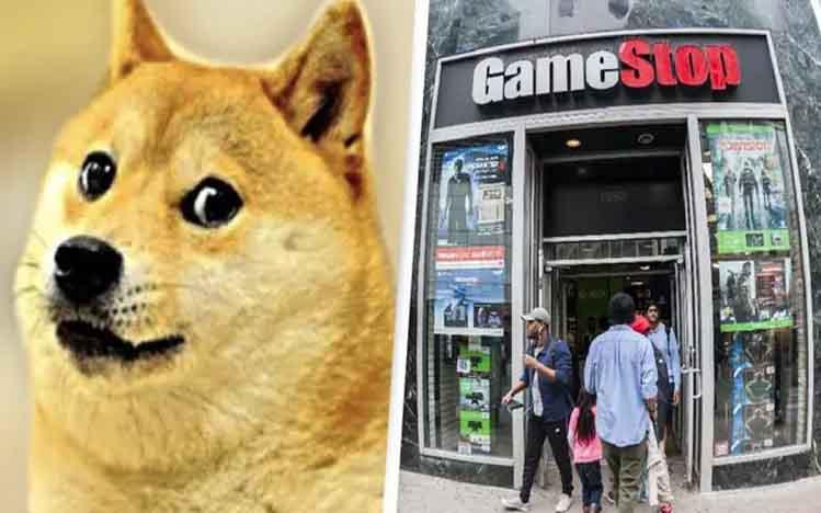 Dogecoin dan Gamestop Sedang Moncer