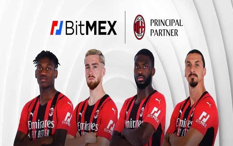 Bitmex Kerjasama dengan AC Milan