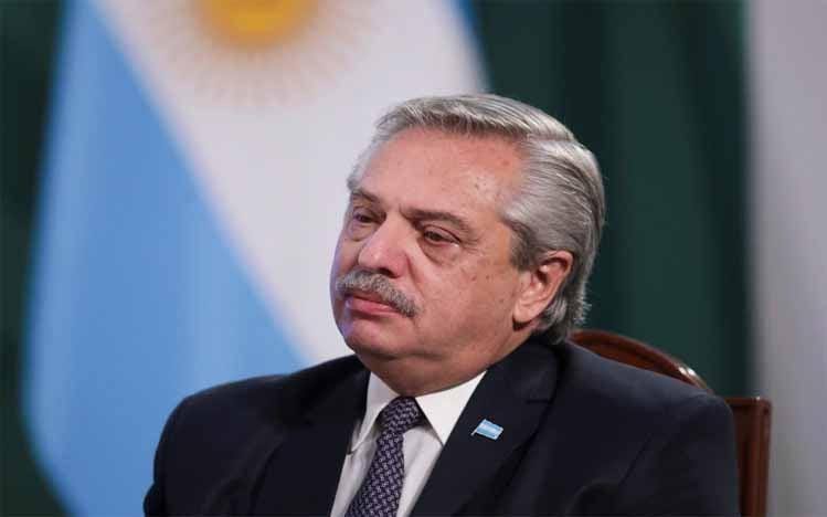 Presiden Argentina Alberto Fernandez
